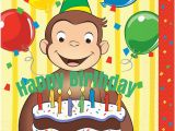 Curious George Birthday Cards Free Curious George Cards