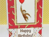 Curious George Birthday Cards Jen 39 S Scraptography Curious George Birthday Card