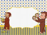 Curious George Birthday Cards Unique Ideas for Curious George Birthday Invitations