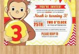 Curious George Birthday Invites 26 Best Birthday Invitation Cards Images On Pinterest
