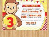 Curious George Birthday Invites 26 Best Birthday Invitation Cards Images On Pinterest