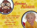 Curious George Birthday Invites Chandeliers Pendant Lights