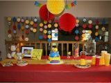 Curious George Birthday Party Decorations Curious George Birthday Party Kids Party Ideas