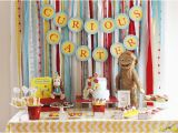 Curious George Birthday Party Decorations Curious George Birthday Party