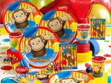 Curious George Birthday Party Decorations Curious George Birthday Party theme Idea Mylesjerry