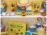 Curious George Birthday Party Decorations Curious George themed Boys Birthday Party Ideas In Blume