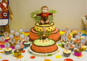 Curious George Birthday Party Decorations Free Printable 2nd Invitation