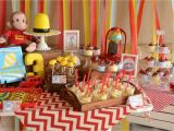 Curious George Birthday Party Decorations the Howard Family Blog Kennedie 39 S Curious George Party
