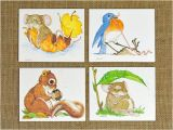 Current Birthday Cards Vintage Greeting Cards 12 Nos Current Cards with 4 Designs