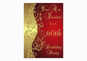 Custom 60th Birthday Invitations 60th Birthday Party Personalized Invitation Zazzle Com