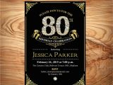 Custom 60th Birthday Invitations Black Gold 80th Birthday Invitation 60th 70th 90th Any