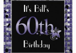 Custom 60th Birthday Invitations Happy 60th Birthday Party Invitation Personalized Zazzle