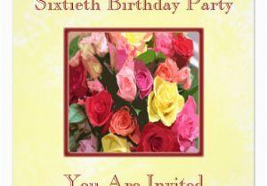 Custom 60th Birthday Invitations Personalized 60th Birthday Party Invitations 5 25 Quot Square