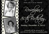 Custom 80th Birthday Invitations 15 Sample 80th Birthday Invitations Templates Ideas