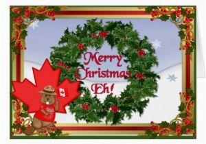 Custom Birthday Cards Canada Canada Christmas Greeting Cards Zazzle