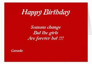 Custom Birthday Cards Canada Canadian Girls Birthday Greeting Cards Zazzle