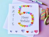 Custom Birthday Cards Uk 5th Birthday Card Custom Personalised Age 5 Card Handmade