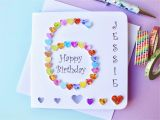 Custom Birthday Cards Uk 6th Birthday Card Custom Personalised Age 6 Card Happy