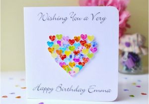 Custom Birthday Cards Uk Card Colourful With Name Or