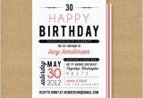 Custom Birthday Invitations for Adults Adult Birthday Invitations 35 Pretty Examples Jayce O Yesta