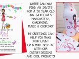 Custom Birthday Invitations for Adults Occasion Invitations for Adults Pj Greetings