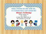 Custom Birthday Invitations for Kids Birthday Invitation Card Custom Birthday Party