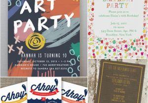Custom Birthday Invitations for Kids Unique Birthday Party Invitations for Kids Popsugar Moms