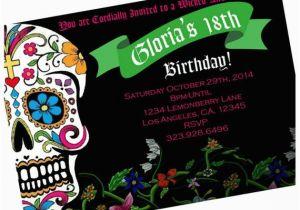 Custom Birthday Invitations Walgreens Dia De Los Muertos Pic Paper