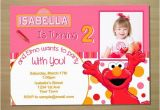 Custom Elmo Birthday Invitations Custom Pink Elmo Girl Birthday Invitation Digital File