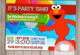 Custom Elmo Birthday Invitations Elmo Custom Printable Birthday Invitation