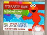 Custom Elmo Birthday Invitations Elmo Custom Printable Birthday Invitation