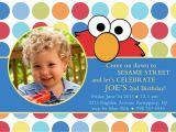 Custom Elmo Birthday Invitations Free Printable Birthday Invitations for Kids Drevio