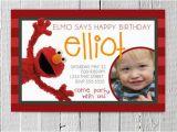Custom Elmo Birthday Invitations Unavailable Listing On Etsy