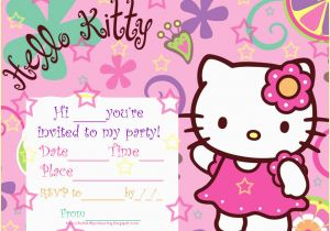Custom Hello Kitty Birthday Invitations Hello Kitty Birthday Invitations Ideas Bagvania Free