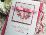 Custom Made Birthday Cards Online Gorgeous Luxury butterfly Heart Birthday Card Handmade