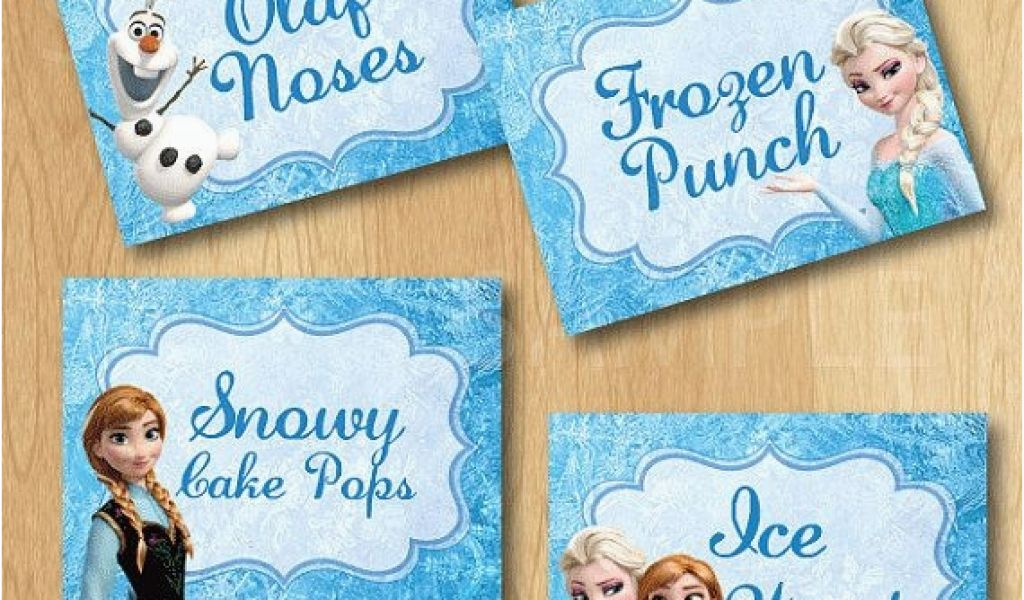 photograph relating to Frozen Birthday Card Printable named Custom made Generated Birthday Playing cards Printable Disney Frozen Food stuff