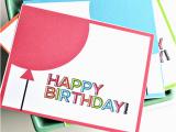 Custom Made Birthday Cards Printable Printable Birthday Cards From Thirty Handmade Days