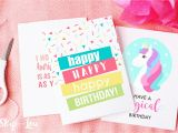 Custom Made Birthday Cards Printable Printable Birthday Cards Skip to My Lou