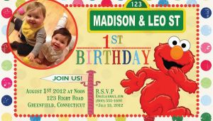 Custom Sesame Street Birthday Invitations Items Similar to Custom Birthday Invitations Sesame