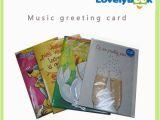 Custom Singing Birthday Cards Custom Musical Greeting Cards for Holiday Gift Birthday