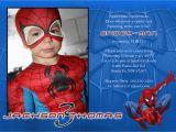 Custom Spiderman Birthday Invitations Free Personalized