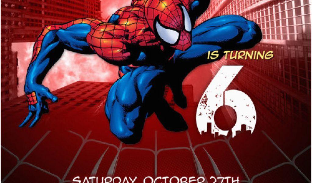 Download By SizeHandphone Tablet Desktop Original Size Back To Custom Spiderman Birthday Invitations