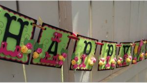 Customised Happy Birthday Banners Items Similar to Happy Birthday Banner Handmade Banner
