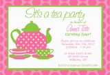Customizable Birthday Invitations Free Printables Custom Printable Tea Party Invitation