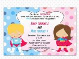 Customizable Printable Birthday Cards Superhero Birthday Invitation Card Printable Personalized