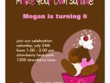 Customize Your Own Birthday Invitations Make Your Own Sundae Birthday Invitation Zazzle