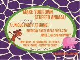 Customize Your Own Birthday Invitations Wendy Hanenburg 39 S Blog Make Your Own Stuffed Animals