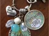 Customized Birthday Gifts for Her Birthday Gift for Her Personalized Vintage Necklace or Key
