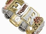 Customized Birthday Gifts for Her Sentiment Tile Bracelet
