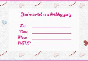 Customized Birthday Invitation Cards Online Free Invites Make Invitations